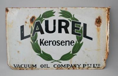 Advertising Sign [Laurel Kerosene]; Vacuum Oil Company Pty Limited; 2016.28