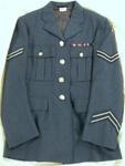 Uniform Tunic [RNZAF]; J.A. Wilkinson & Son Ltd., New Zealand. Royal New Zealand Air Force (New Zealand, estab. 1937); 1957; 1977.182.1