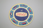 Coaster [Teal]; Tasman Empire Airways Limited (New Zealand, estab. 1940, closed 1965); 2002.82.2