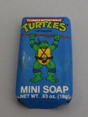 Soap [Teenage Mutant Ninja Turtles]; DuCair Bioessence, Inc. (United States of America, estab. 1974, closed 1991), Mirage Studios (United States of America, estab. 1983); 1989; 2015.128.15