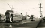 Trams  Auckland,  Dominion Rd; Graham C. Stewart (b.1932); 14-0119