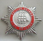 Hat Badge [British Guiana Fire Brigade]; 1982.53.61