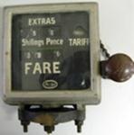 Meter [Argo Taxi Meter]; Kienzle Argo Taxi International GmbH (Germany, estab. 1883); Circa 1953; 1979.68