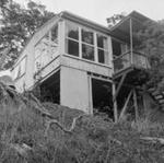 Grader clearing scrub, 17 Sept 1958; Ron Vine; 1958; 10/012/001