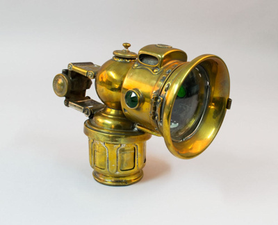 Bicycle Lamp [Carbide]; Joseph Lucas Limited; Circa 1915; 2003.220