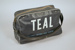 Cabin Bag [Teal]; Tasman Empire Airways Limited (New Zealand, estab. 1940, closed 1965); 2004.573