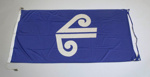 Airline Flag [Air New Zealand]; Air New Zealand Limited (New Zealand, estab. 1965), Blue Grass Products Limited (closed 1970); 2003.270