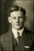 Black and white studio portrait of Weston James Barber; Circa 1918; 04/071/061