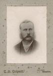 Portrait photograph of a man; T. S. Tolputt; 13-1056