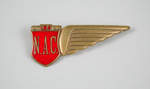 Badge [NAC]; National Airways Corporation (New Zealand, estab. 1947, closed 1978); 2013.308.3