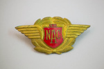Badge [NAC]; National Airways Corporation (New Zealand, estab. 1947, closed 1978); 2013.417