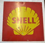 Sign [Shell]; Shell Oil (New Zealand) Limited (estab. 1959); 2013.549
