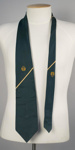 Uniform Necktie [Aerlinte Eireann]; Aerlinte Eireann (Ireland, estab. 1947, closed 1960); Gilt Edge; 2004.599