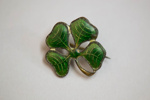 Lapel Pin [Four Leaf Clover]; 2006.222