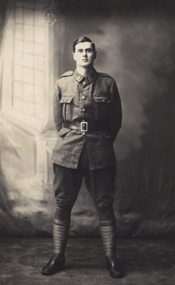 Photograph of a soldier; Unidentified; 13-1082