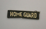 Patch [Home Guard]; New Zealand Home Guard (estab. 1940, closed 1943); 2003.624