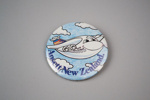 Badge [Ansett New Zealand]; Ansett New Zealand (estab. 1987, closed 2001); 2017.3.38