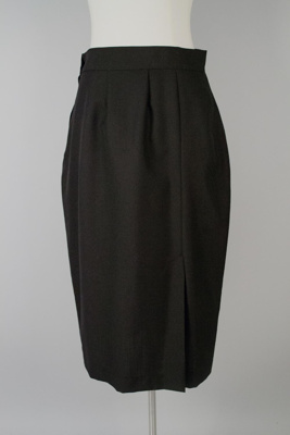 Uniform Skirt [Tasman Empire Airways Limited]; David Jones Limited (Australia, estab. 1838); Tasman Empire Airways Limited (New Zealand, estab. 1940, closed 1965); 1950-1957; 2004.448