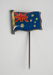 Lapel Pin [Flag of Australia]; Swann and Hudson (Australia, closed 1980s); 2003.503