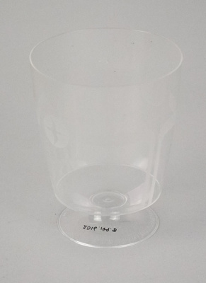 Wine Glass [NAC]; A.H.L. Plastic Products Moulding Co.; National Airways Corporation (New Zealand, estab. 1947, closed 1978); 2016.149.8