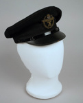 Uniform Hat [Teal]; Hills Caps Limited (New Zealand, estab. 1875), Tasman Empire Airways Limited (New Zealand, estab. 1940, closed 1965); F2389.2004