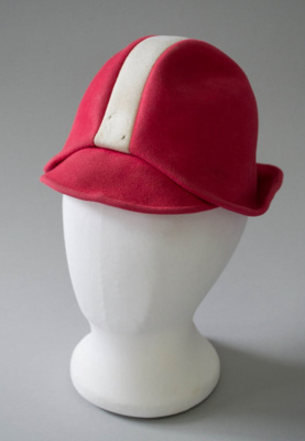 Uniform Hat [National Airways Corporation]; National Airways Corporation (New Zealand, estab. 1947, closed 1978); 1970-1976; 2016.35.3