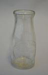 Bottle [Milk Bottle]; Ambury's Limited (New Zealand, estab. 1893, closed 1965); 2015.116