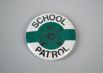 Badge [School Patrol]; New Zealand Ministry of Transport (New Zealand, estab. 1968); 2017.16.2