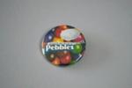 Promotional Badge [Pebbles, Pascall]; Ansett New Zealand (estab. 1987, closed 2001), Pascall (estab. 1981); 2016.36.105