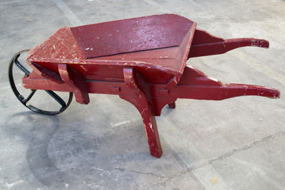 Wheelbarrow [Swiss Cart]; 1926; 1972.279