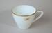 Teacup [Teal]; Noritake (Japan, estab. 1904), Tasman Empire Airways Limited (New Zealand, estab. 1940, closed 1965); 1961; 2004.565