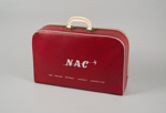 Airline Bag [NAC]; National Airways Corporation (New Zealand, estab. 1947, closed 1978); 2004.47