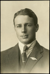 Black and white studio portrait of Lawrence Sherriff; Circa 1918; 04/071/017
