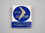 Matchbook [Airlines of New South Wales]; Universal Match Corporation (estab. 1925); Airlines of New South Wales (estab. 1959, closed 1993); 2016.167.24
