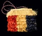 Kete Raakei (decorative basket)  ; Unknown; 81/77/65