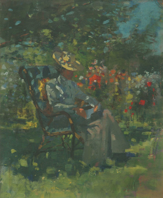 Garden Scene: Woman 'Neath Trees, Mr Nairn, James, Post 1890, 83/5