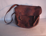 Leather satchel, Mr. Low, John, 19th Century, 1917.88