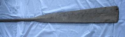 Whale boat oars, 19th Century, T93
