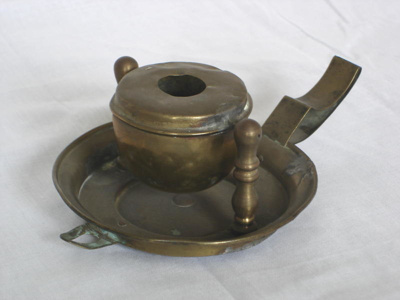 Gimbal oil lamp, 19th Century, 3353.92