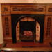 Hand carved fire mantle, Carini, 1900s, 1256.86