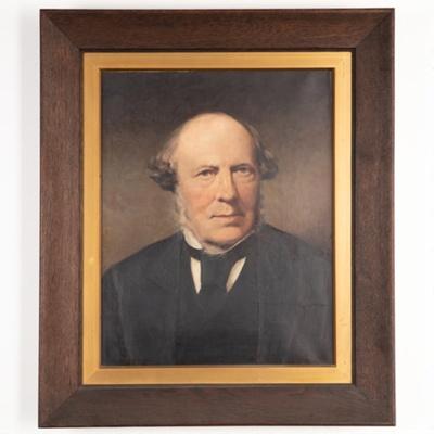 Painting, Portrait of Alexander McNab; J. Moffat; 1880; B2.54