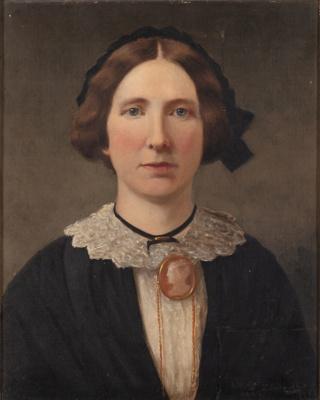 Painting, Portrait of Catherine McNab; J. Moffat; 1885; GO.B2.53