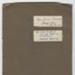 Scrapbook, Herries Beattie ; Unknown maker; Unknown; GO79Bk35