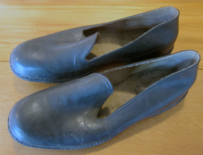 Overshoes; Marathon Rubber Footwear Ltd, Christchurch; After 1939; 394