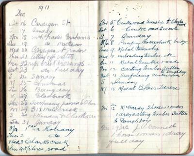 Notebook; [?]; 1909-1912; 2011.72