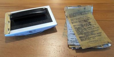 Stamp, rubber; Gutteridge Sampson and Co, 151 Farringdon Road, London, EC1, United Kingdom; C 1960; 2012.102