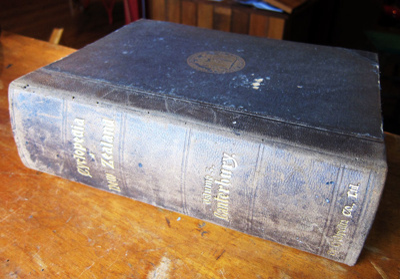 Book [Cyclopedia of New Zealand Volume 3 Canterbury]; Horace J. Weeks, Ltd. Christchurch, N.Z.; 1903; 2011.7