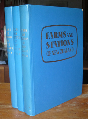 Book [Farms and Stations of New Zealand]; Tait, G A; 1957-61; 2011.61.1-3