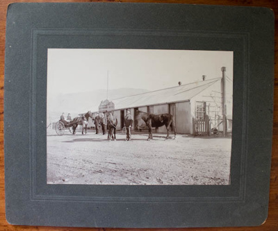 Photograph [Bannockburn Hotel, Central Otago]; G A Tomlinson; Late 19th Century; XOPO.5