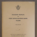 Book, 'Training Manual for Post Office Savings Bank Tellers'; A R Shearer; 1969; XOPO.143